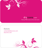 Dryicons Business Card Template Image