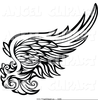 Free Clipart Cardinal With Wing Spread Image