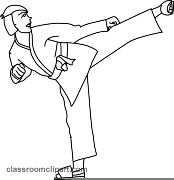 Karate Clipart Free Download Free Images At Clker Com