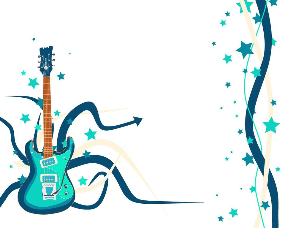 Blue Guitar Music Song | Free Images at Clker.com - vector ...