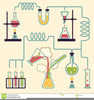 Chemistry Laboratory Equipment Clipart Image
