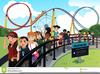 Clipart Of Roller Coaster Ride Image