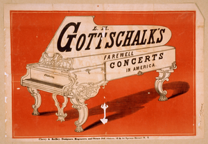 L.m. Gottschalk S Farewell Concerts In America Image