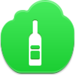 Wine Bottle Icon Image