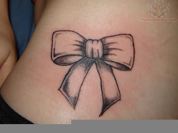 Ribbon Bow Tattoo | Free Images at Clker.com - vector clip ...