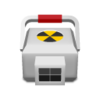 Medical Radioactive Icon Image