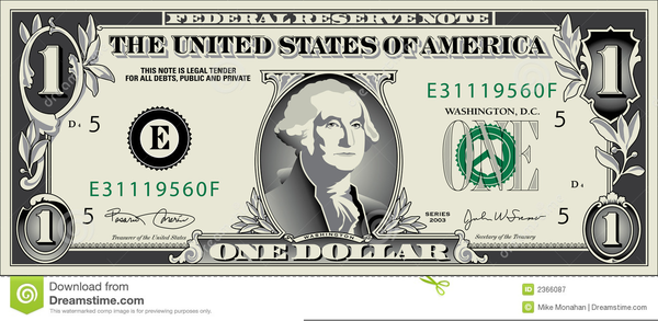 Free Clipart Of Dollar Bill | Free Images at Clker.com ...