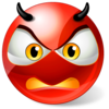 Icons Land Angry Devil Smiley Image