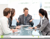 Clipart Good Business Meeting Image