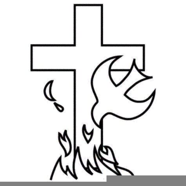 Flame And Cross Clipart Free Images At Clker Com