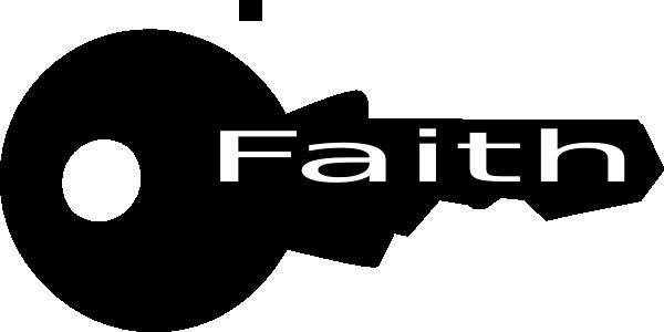 key of faith clip art at clker com vector clip art online royalty rh clker com sharefaith clipart faith clipart black and white
