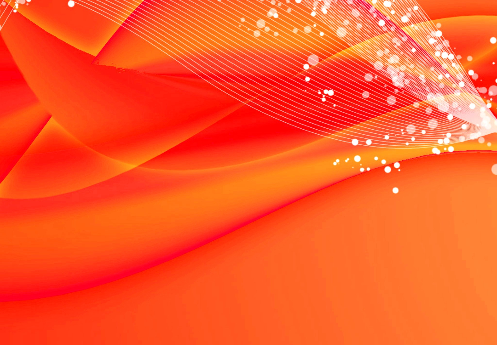 Wallpaper Orange Pink Lines Bubbles