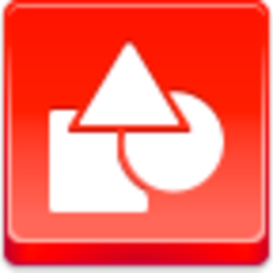 Free Red Button Icons Shapes Image