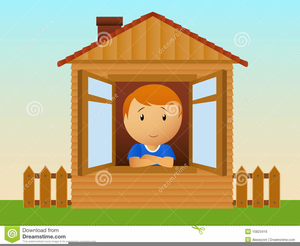 Free House Window Clipart Image