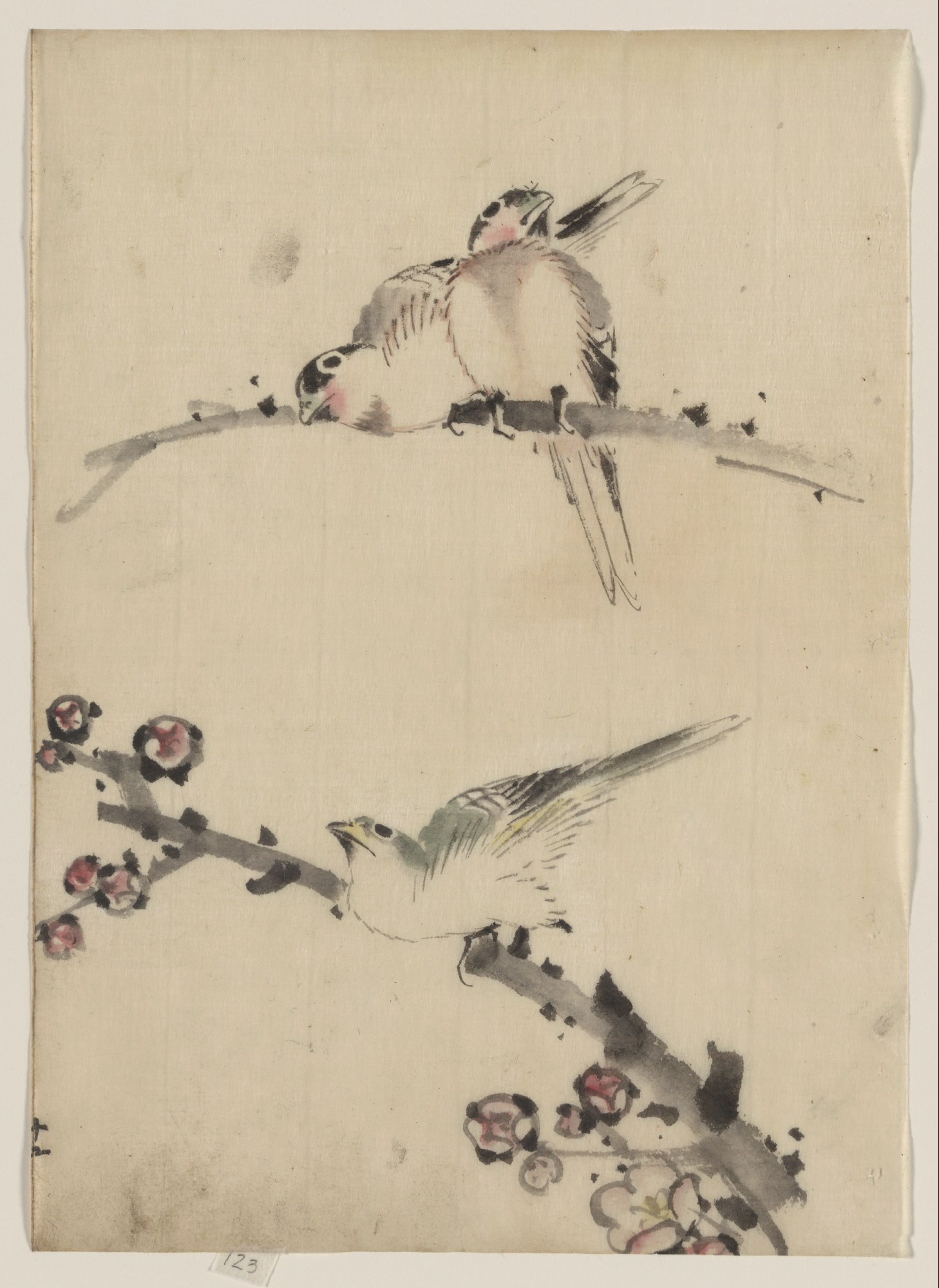 Asian Bird Tattoo 18
