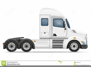 Clipart Truck And Trailer Image