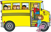 Free Clipart Party Bus Image