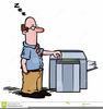 Broken Copy Machine Clipart Image