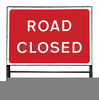 Road Construction Sign Clipart Image