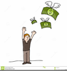 Flying Money Clipart Image