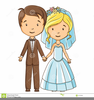 Funny Wedding Clipart Bride And Groom Image