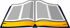 Clipart Of Open Bible Image