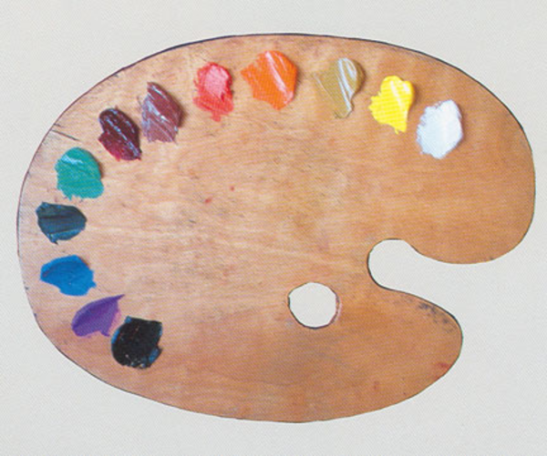 Art Pallets With Paint
