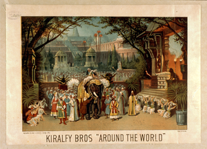 Kiralfy Bros  Around The World  Image