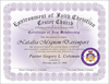 Church Membership Certificate Image