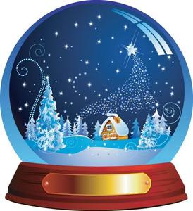 Animated Christmas Scene Clipart | Free