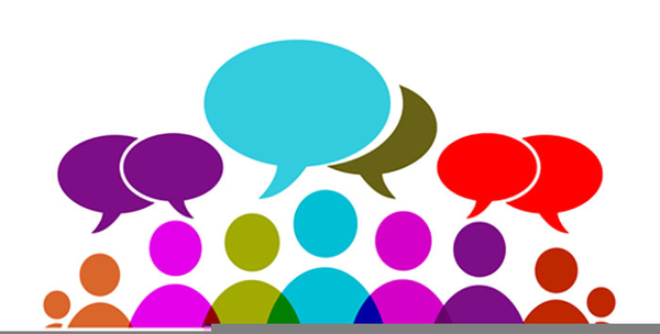 people discussion clipart free images at clkercom