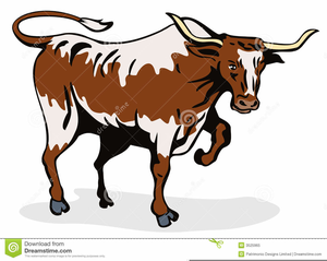 Longhorn Cattle Clipart Free Images At Clker Com Vector Clip Art Online Royalty Free Public Domain