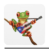 Frog Playing Guitar Clipart Image
