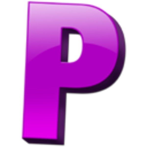 Letter P Clip Art at Clker.com vector clip art online, royalty free ...