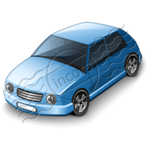Car Compact Blue Image