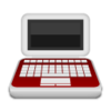 Medical Laptop Icon Image