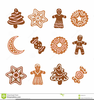 Christmas Gingerbread Clipart Image
