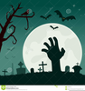 Creepy House Clipart Image