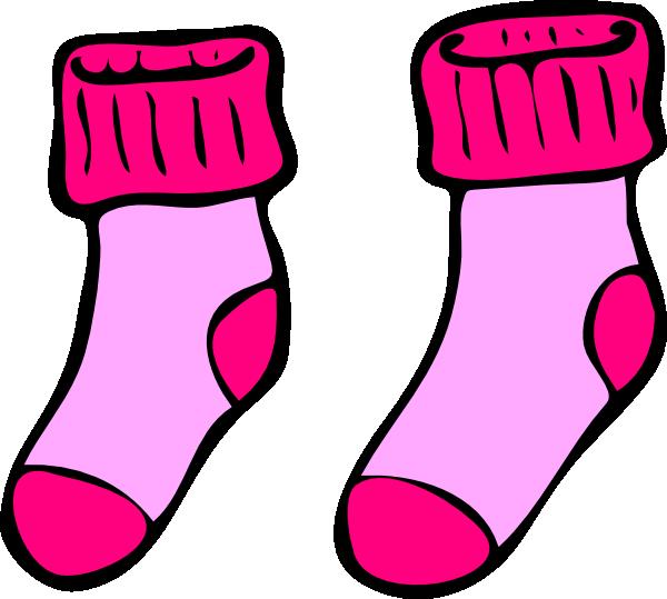 pink socks clip art at clker com vector clip art online royalty rh clker com stock clipart stock clipart