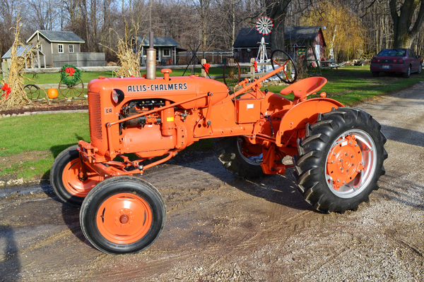 Allis Chalmers Tractor Clip Art : Side view left good dsc free images at clker