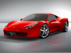 Foreign Sports Car Clipart Image