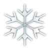 Snow Flake Icon Clip Art