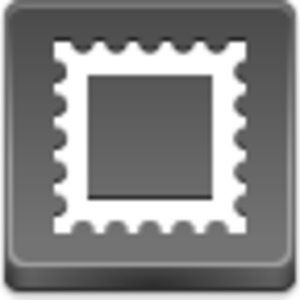 Free Grey Button Icons Postage Stamp Image