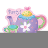 Free Tea Party Clipart For Invitations Image