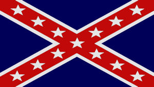 Blue Rebel Flag Image