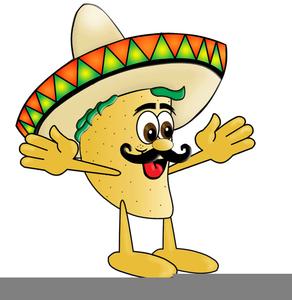 cartoon taco clipart free images at clker com vector clip art rh clker com
