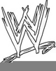 Free Wrestling Clipart Image