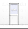 Free Closed Door Clipart Image
