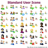 Standard User Icons Image