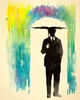 Umbrella Man Rain Image